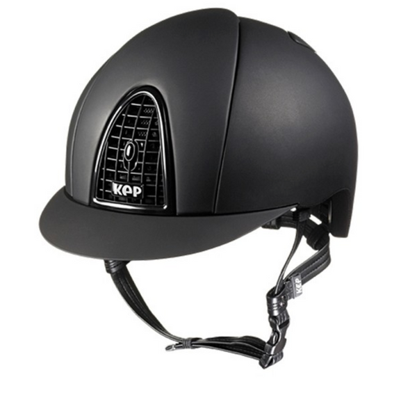 KEP Matte helmet for safety and the stylish equestrian.