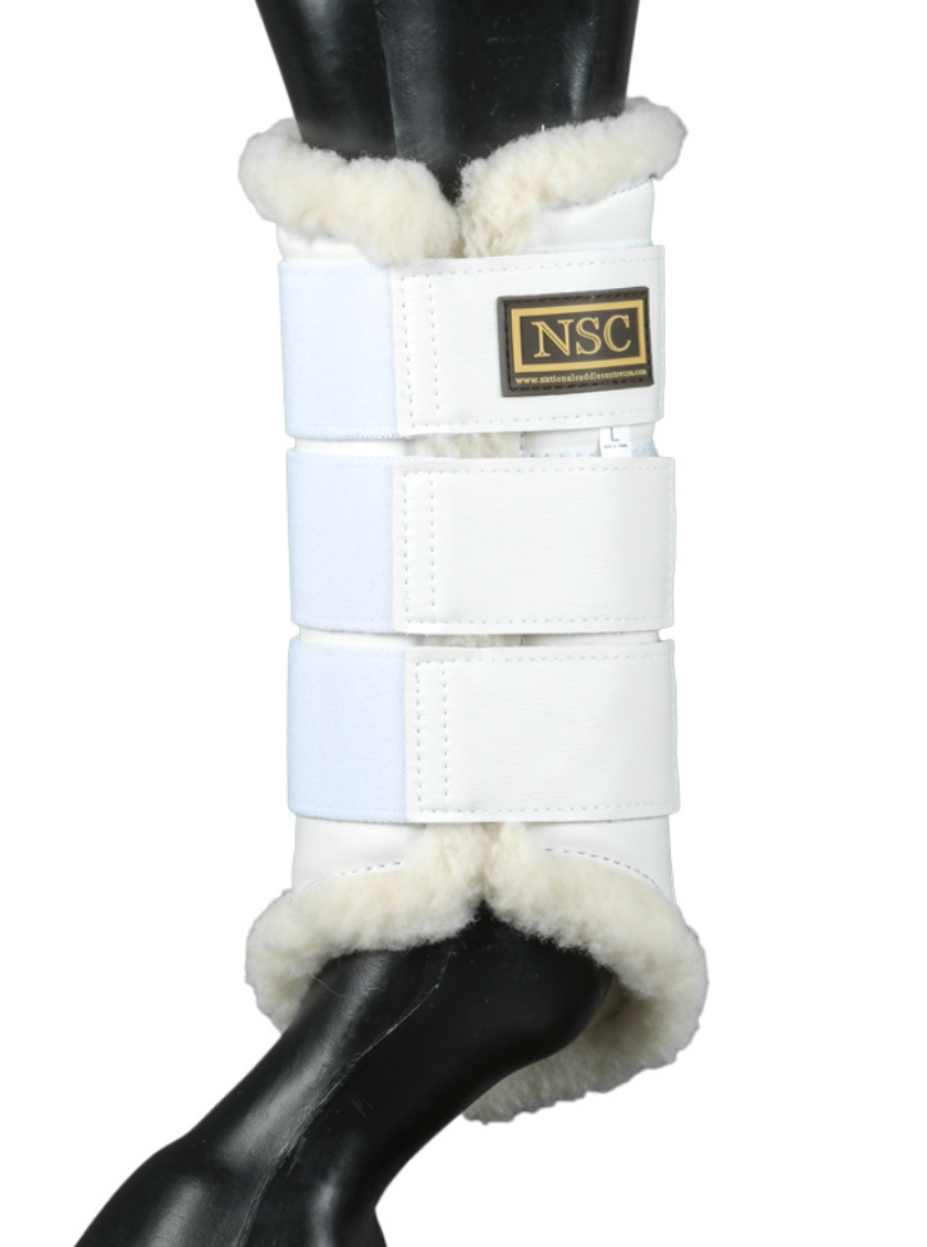 NSC fleece-lined horse boots for everyday horseback riding. Great horse boots for all your fashionable horseback riding needs.