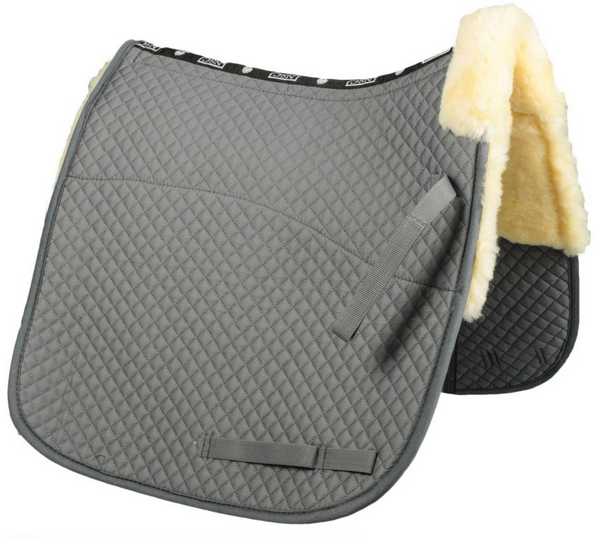 NSC Sheepskin Dressage Saddle Pads - Equestrian Fashion Outfitters