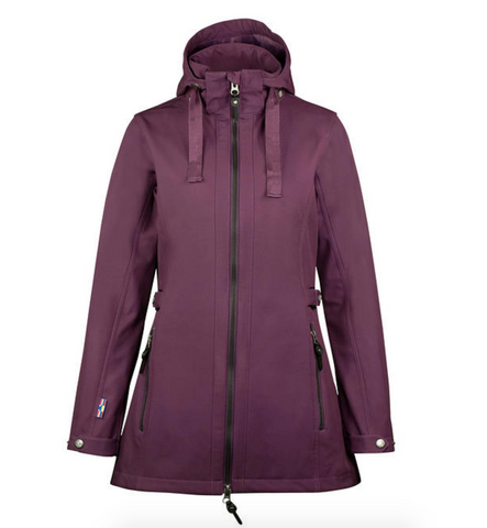 Horze Freya Long Softshell Jacket - Equestrian Fashion Outfitters