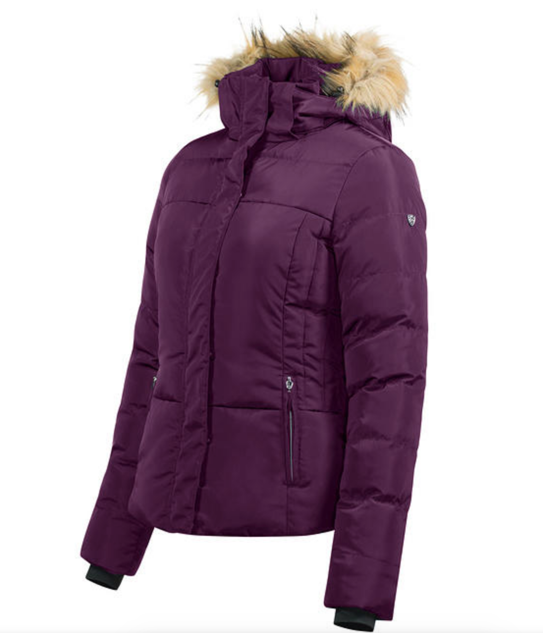 The Horze Camilla padded horseback riding jacket for the winter is stylish and comfortable for all your riding needs.