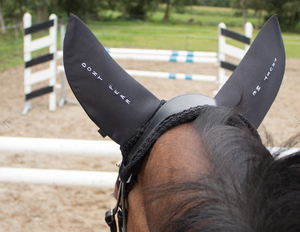 QHP Embroidered Fly Veil - Equestrian Fashion Outfitters