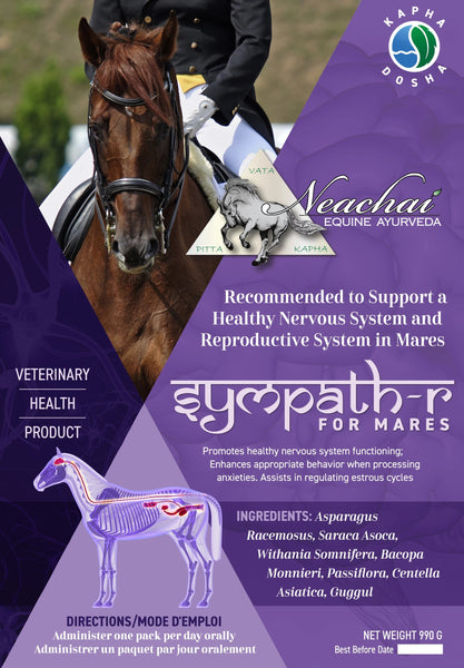 Neachai Symaph-R for mares recommended to support a healthy nervous system and reproductive system in mares.