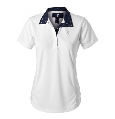 Horze Blaire Short Sleeve Show Shirt - Equestrian Fashion Outfitters