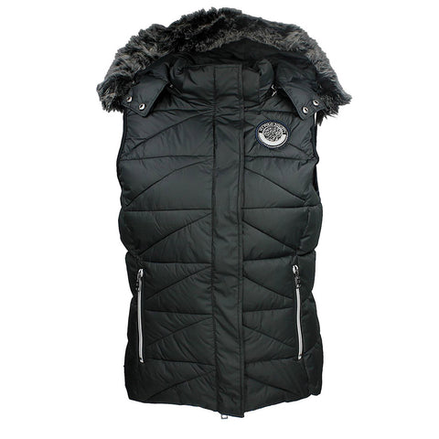 HV Polo bodywarmer for horseback riders. This horseback riding vest is perfect for fashionable equestrians.