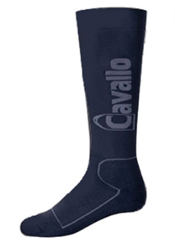 Cavallo International stylish horseback riding socks for everyday riding.