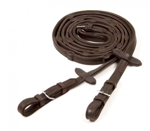 Schockemohle Durasoft Grip Leather Reins - Equestrian Fashion Outfitters
