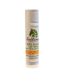 The ecolicious all natural product for grooming horses. All natural lip balm for horseback riders.
