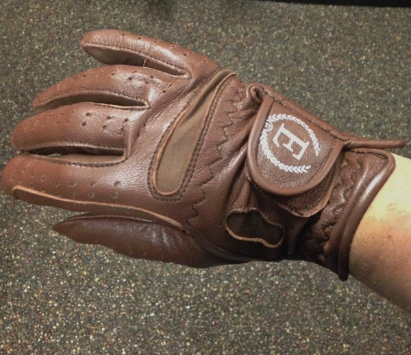EFO Full Grain Leather Gloves - Equestrian Fashion Outfitters
