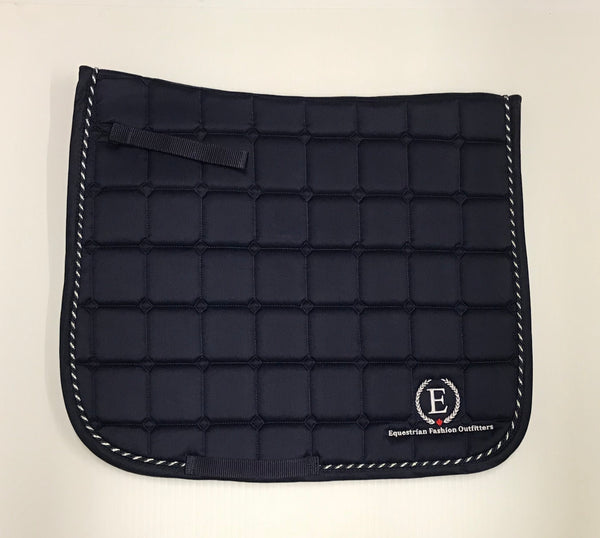 EFO Logo Saddle Pads - Equestrian Fashion Outfitters