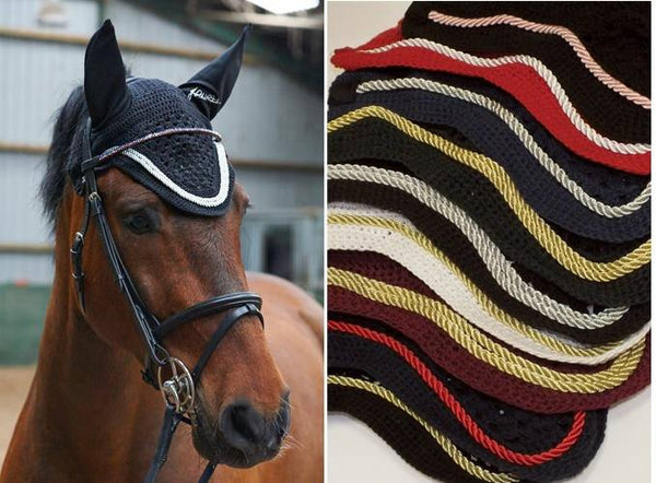 John whitaker horseback riding fly veil for competition and everyday use. These are great for the fashionable horseback rider.