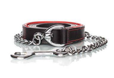 Equestrian Fashion Outfitters leather horse lead for fashionable horseback riders.