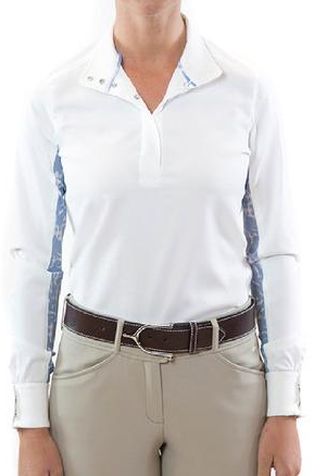 RJ Lauren Long Sleeve Show Shirt - Equestrian Fashion Outfitters