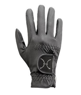 UVEX Synthetic Gloves with reflective stripe. This is a wonderful addition to any horseback riders glove lineup.