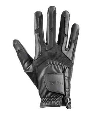 The Uvex Ventraxion is an extremely stretchy, well ventilated summer riding glove that molds to the hand like a second skin, for a perfect grip on the reins.