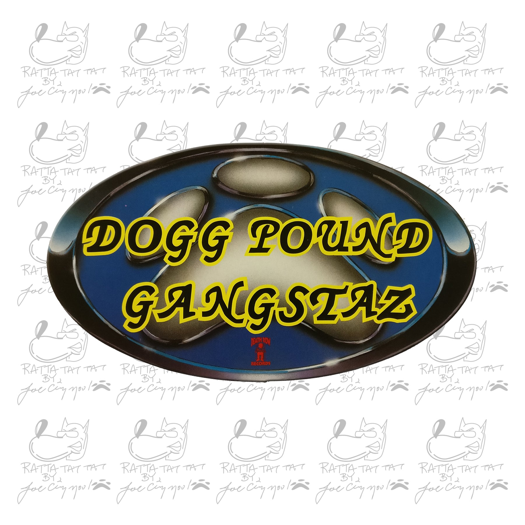 "ORIGINAL ""DOGG POUND GANGSTAZ"" 95' STICKER"