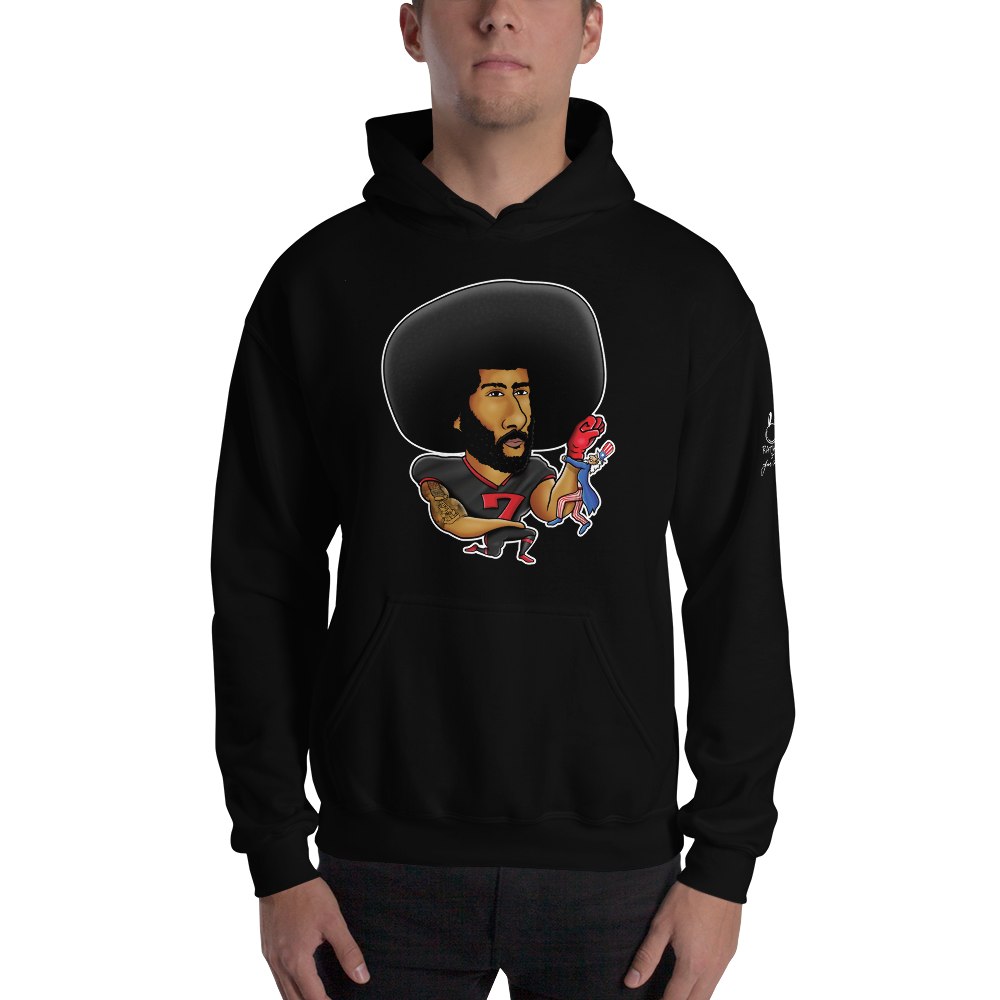 DON'T STAND FOR SAM HOODIE (BLACK)