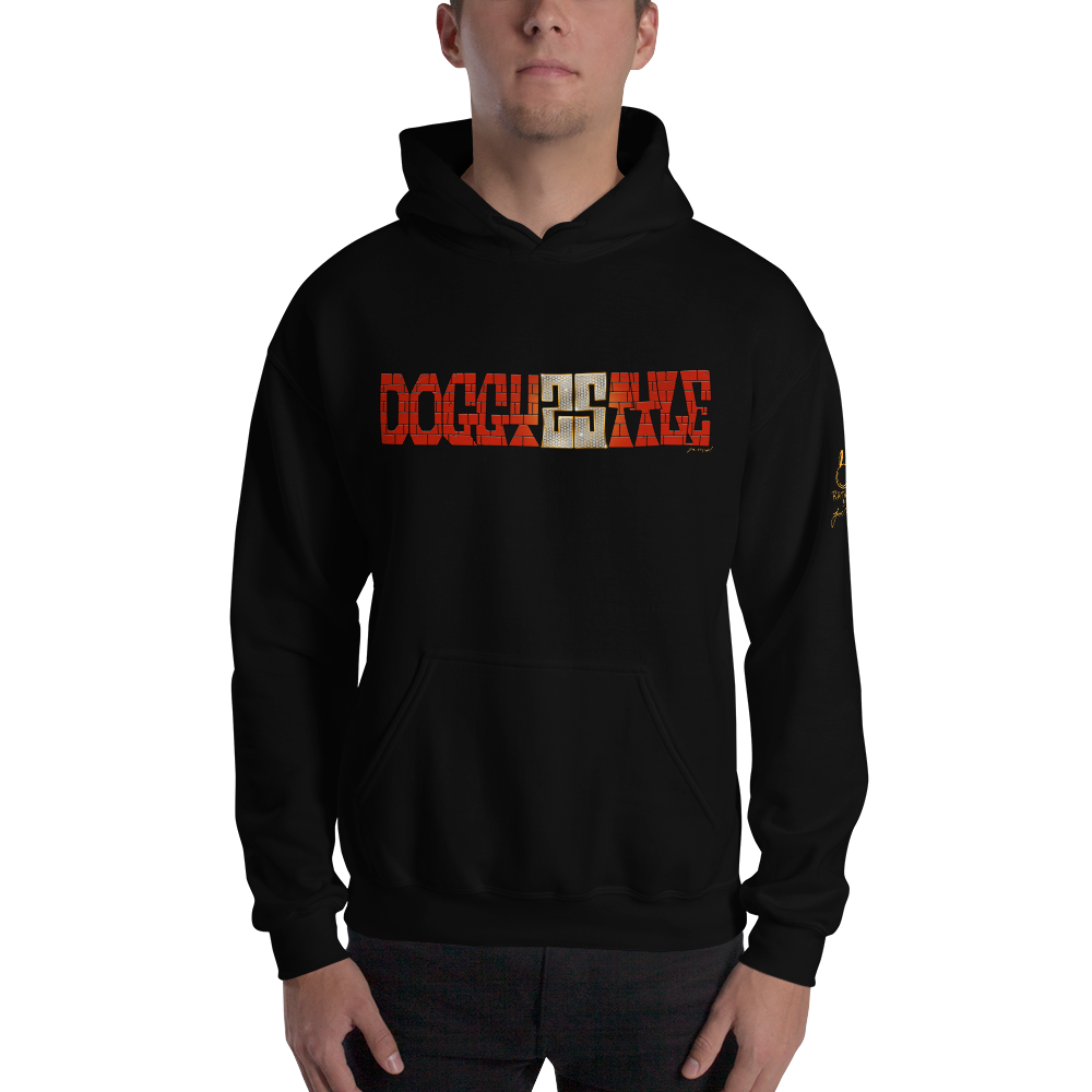 DOGGYSTYLE 25TH ANNIVERSARY HOODIE (BLACK)