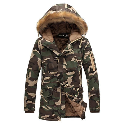 Exclusive Camouflage Winter Parka Jacket
