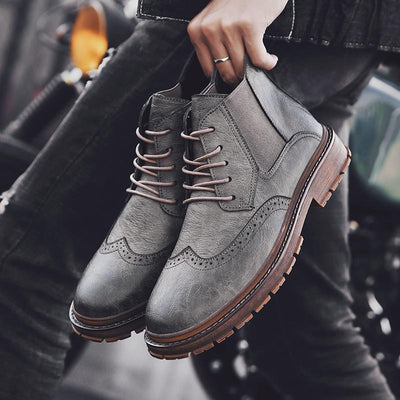 Leo Leather Boots