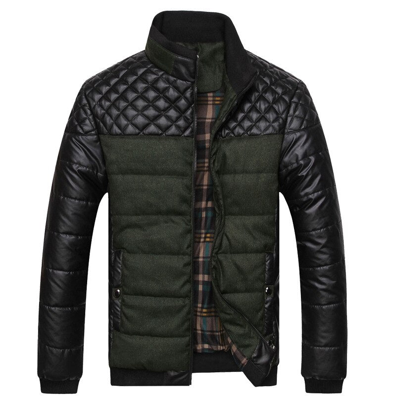Premium Leather Packa Jacket