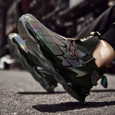 FEATHER Wave 'X6' Sneakers - Reflective Black