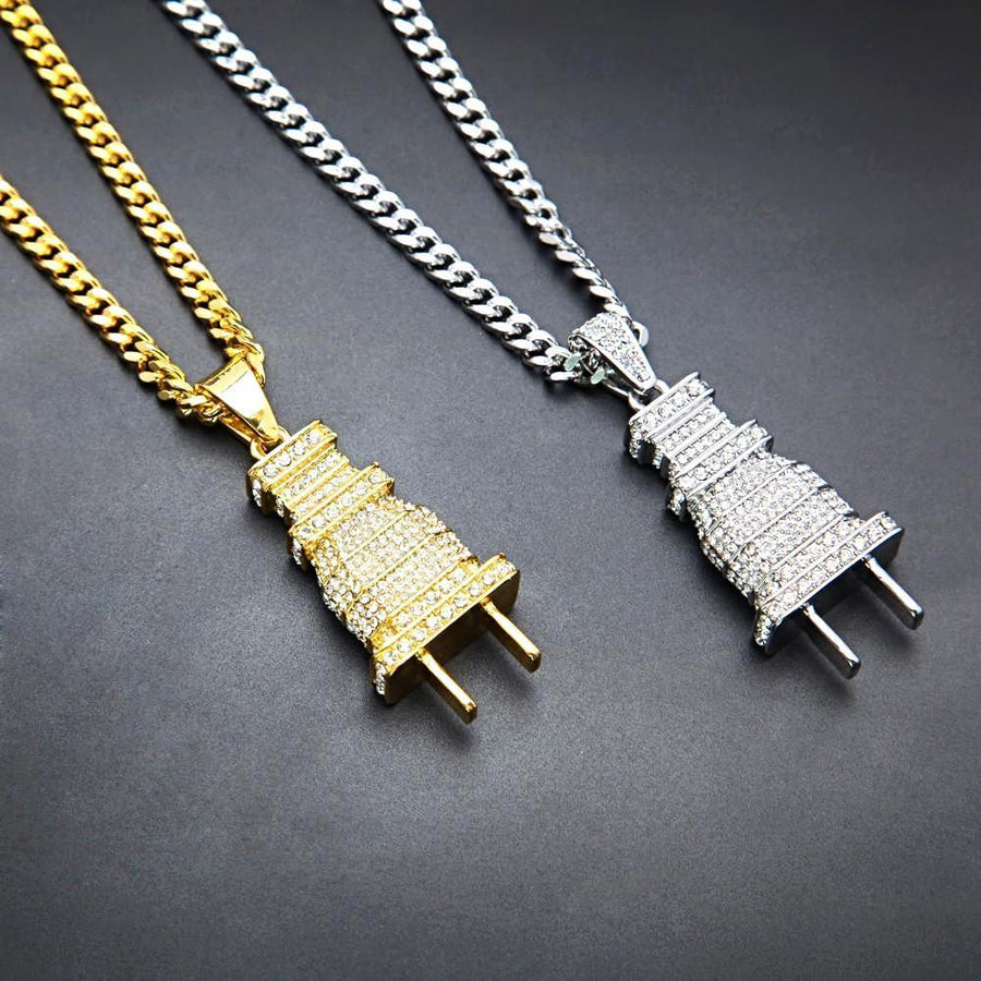 The Plug Ice Necklace
