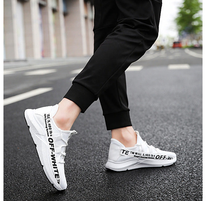 ELGEER OFF WHITE SNEAKERS