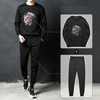 Autumn Casual 2 Pieces hoodie + Pant