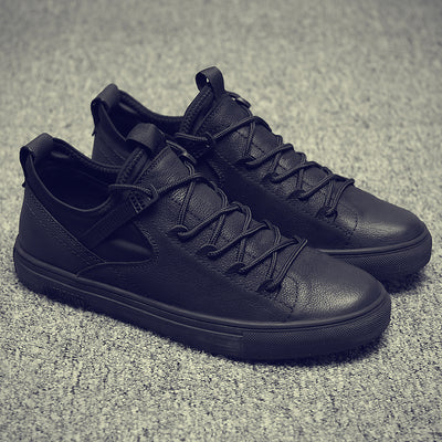 Ernesto Leather Sneakers