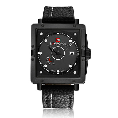 Glorio Waterproof  Leather Watch