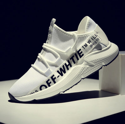 ELGEER OFF WHITE SNEAKERS - FORDUDE.CO