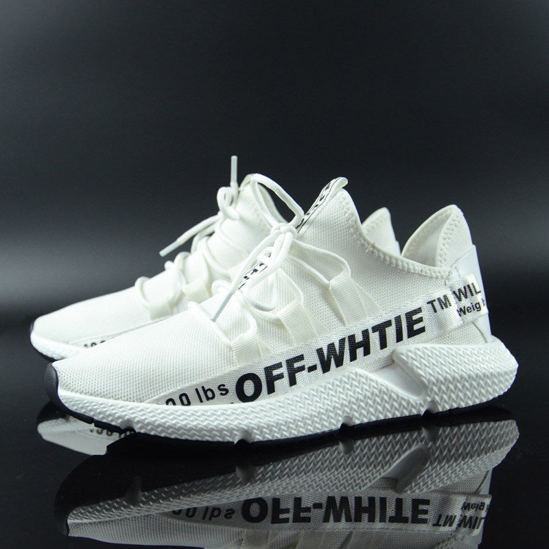 Off White Shoes ELGEER OFF WHITE SNEAKERS - FORDUDE.CO STORE