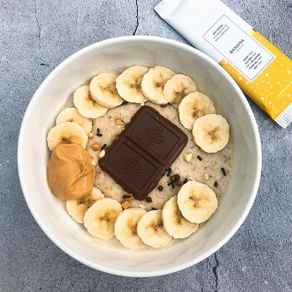 Banana Chocolate Oat Bowl