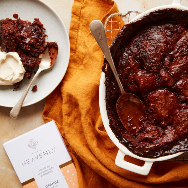CHOCOLATE ORANGE SELF-SAUCING PUDDING