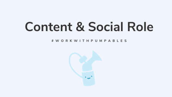 Social & Content Role with Pumpables
