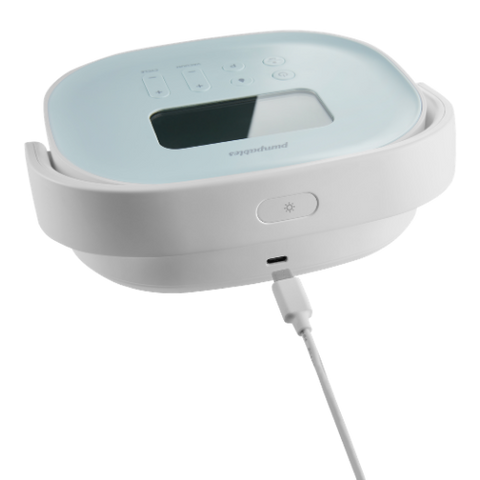 SuperGenie breast pump USB charging