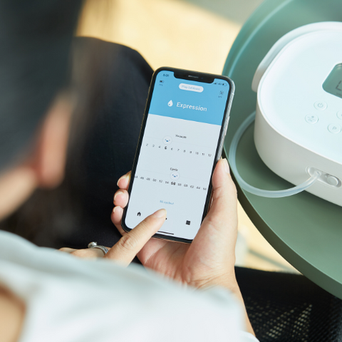 SuperGenie bluetooth breast pump
