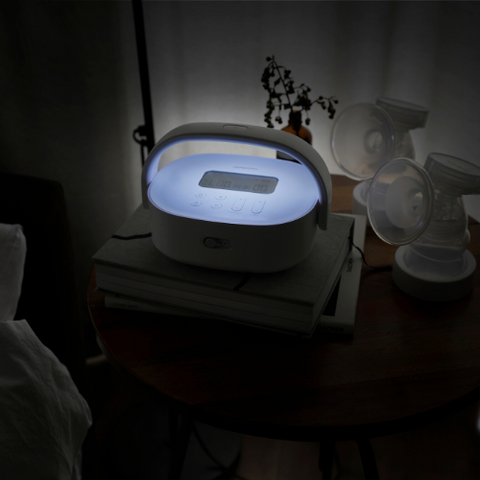 SuperGenie breast pump nightlight