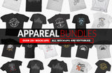 Apparel Mock-Ups Vol-1 (Bundle) - buzzaart