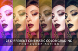 Cinematic Color Grading Action - buzzaart