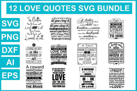 Love svg bundle - buzzaart