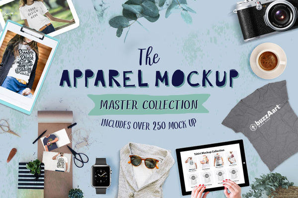 Apparel Mock up Master Collection - buzzaart
