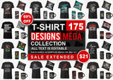 T-Shirt Designs Mega Collection - buzzaart