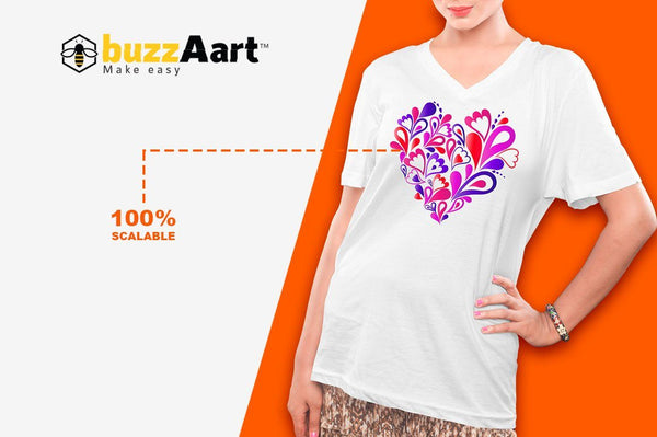 Female V-Neck Tshirt Mock-Ups Vol-1 - buzzaart
