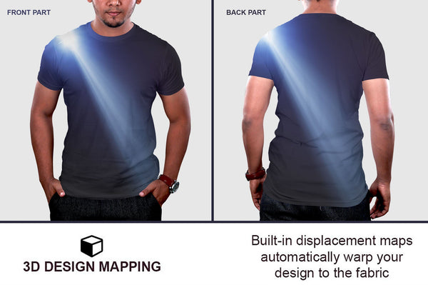 Mens Tshirt Mockup Vol-1 (Bundle) - buzzaart