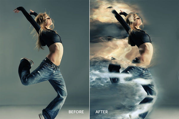 Overpower Photoshop Action - buzzaart