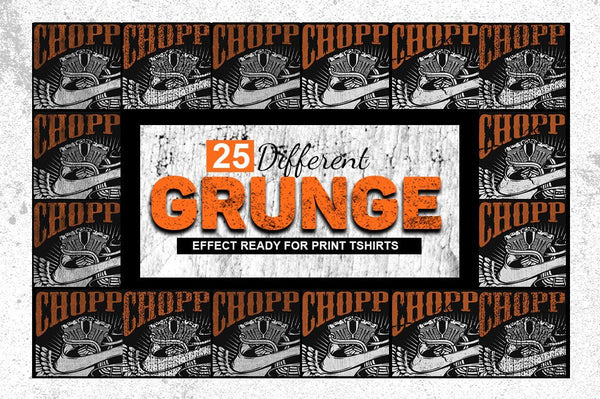 Grunge Maker Photoshop Action - buzzaart