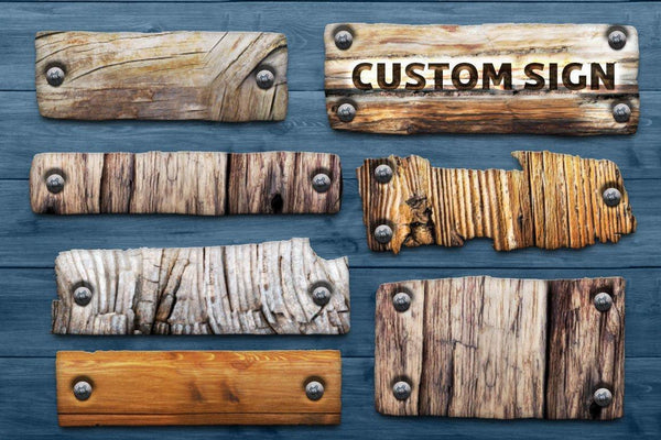 Wooden Photoshop Design Kit - buzzaart