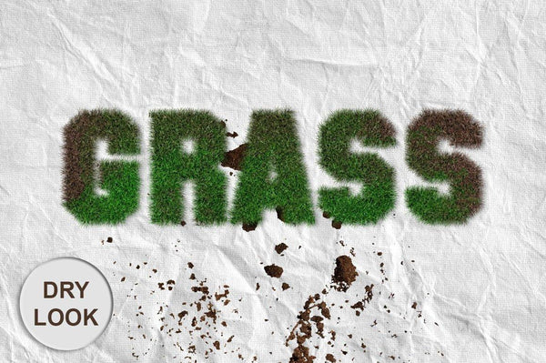 Realistic Grass Photoshop Action - buzzaart